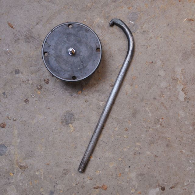 homemade hook wrench